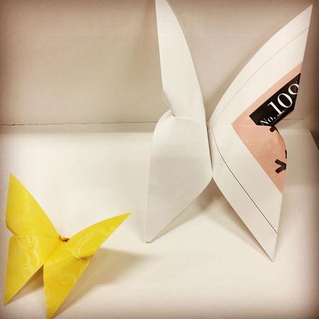 小さな蝶々が完成〜#かわいい #ちょうちょ #蝶々